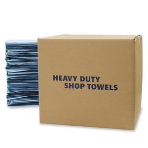 HD SHOP TOWEL FLAT BLUE